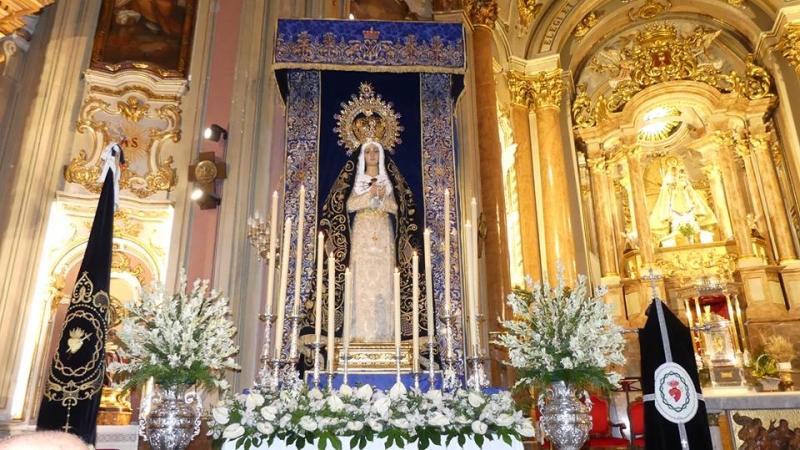 SOLEMNES CULTOS RELIGIOSOS EN HONOR DE LA MADRE DEL JUEVES SANTO