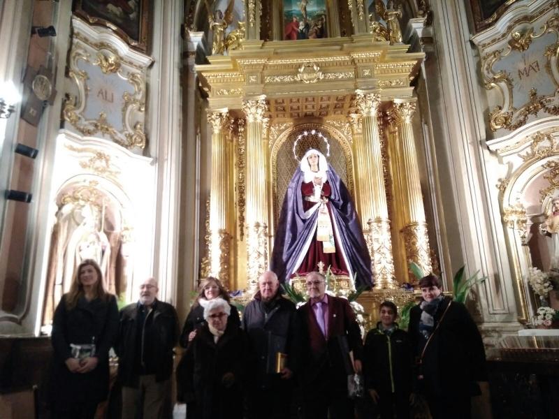 LA SOLEDAD DEL PUENTE HOMENAJEA A SUS HERMANOS M�S ANTIGUOS