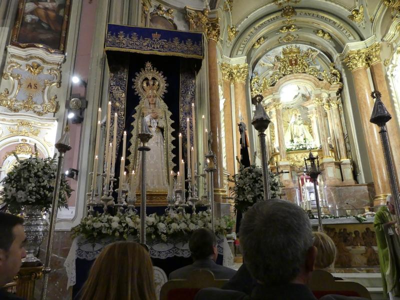 SOLEMNES CULTOS RELIGIOSOS EN HONOR DE LA SOLEDAD DEL PUENTE