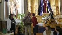 HOMENAJE A LOS HERMANOS M�S ANTIGUOS DE LA HERMANDAD