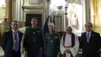 HOMENAJE A LA GUARDIA CIVIL DE CUENCA COMO HERMANA MAYOR HONOR�FICA