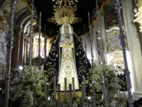UN TRIDUO COMPLETA LOS SOLEMNES CULTOS RELIGIOSOS DE LA HERMANDAD