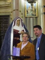 MERECIDO HOMENAJE DE LA HERMANDAD A SUS HERMANOS Y HERMANAS M�S ANTIGUOS